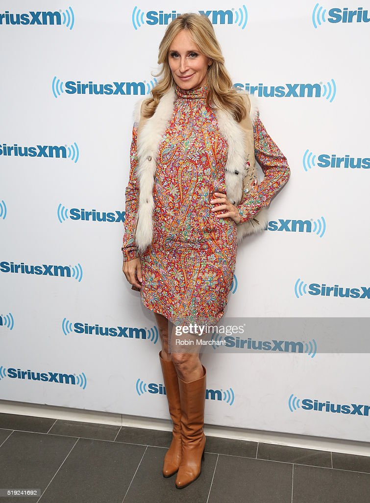 Sonja Morgan visits at SiriusXM Studio on April 5, 2016 in New York City.