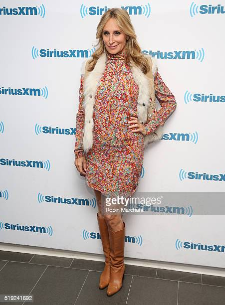 Sonja Morgan visits at SiriusXM Studio on April 5 2016 in New York City