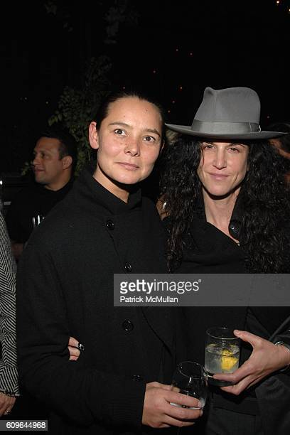 Sonja Nuttall and Amanda ScheerDemme attend THE CINEMA SOCIETY and PIAGET host the after party for 'REVOLVER' at Gramercy Park Hotel Rooftop on...
