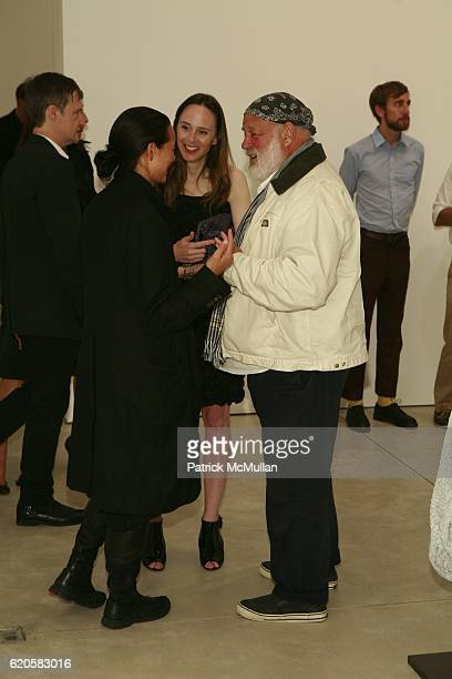Sonja Nuttall Kim Andreolli and Bruce Webber attend LOUIS XIII Celebrates WALLPAPER'S Guest Editor LOUISE BOURGEOISE with HELMUT LANG at Cheim Reid...