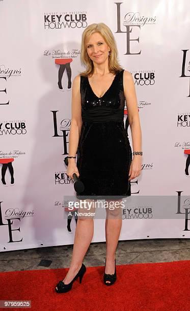 Sonja Olsen attends LA Rocks Fashion Week Lauren Elaine Fall 2010 Black Label at the Key Club on March 22 2010 in West Hollywood California