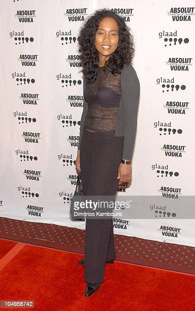 Sonja Sohn during The 14th Annual GLAAD Media Awards New York Arrivals at Marriott Marquis in New York City New York United States