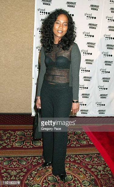 Sonja Sohn of HBO's The Wire wearing a top by Dolce Gabbana and pants by Kenneth Cole