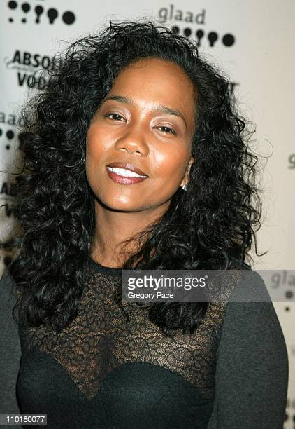 Sonja Sohn of HBO's The Wire wearing a top by Dolce Gabbana