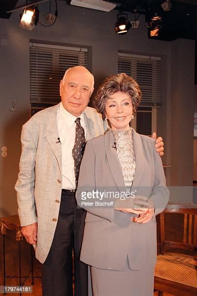 Sonja Ziemann mit Ehemann Charles RegnierARDTalkshow Boulevard BioThema Diegroße Liebe