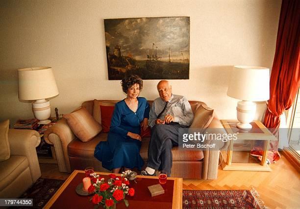 Sonja Ziemann mit Ehemann Charles RegnierHomestory in Lugano