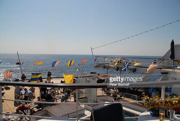 """Sonnendeck, Kreuzfahrtschiff MS """"Astoria"""", Asien, Schiff, Reise, BB, DIG; P.-Nr.: 603/2008, ;"""