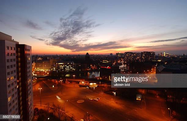 Sonnenuntergang über BerlinMitte