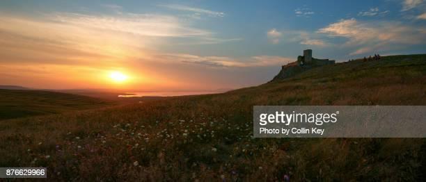 Sonnenuntergang über dem Schwarzen Meer