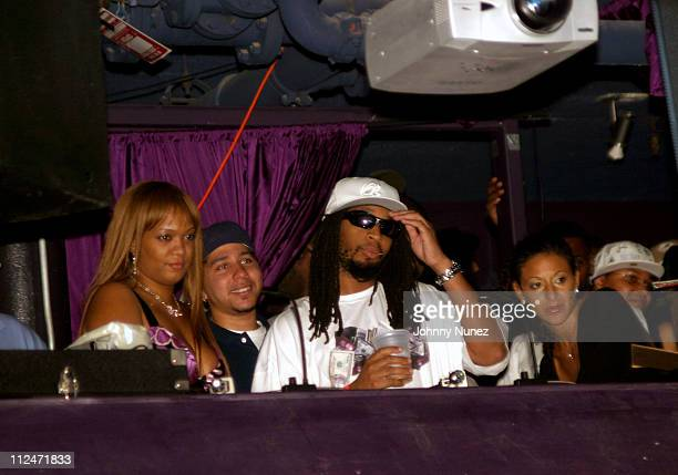 Sonny and Lil' Jon during Mobb Deep Presents 'Amerikaz Nightmare' Album Release at Spirit in New York City New York United States