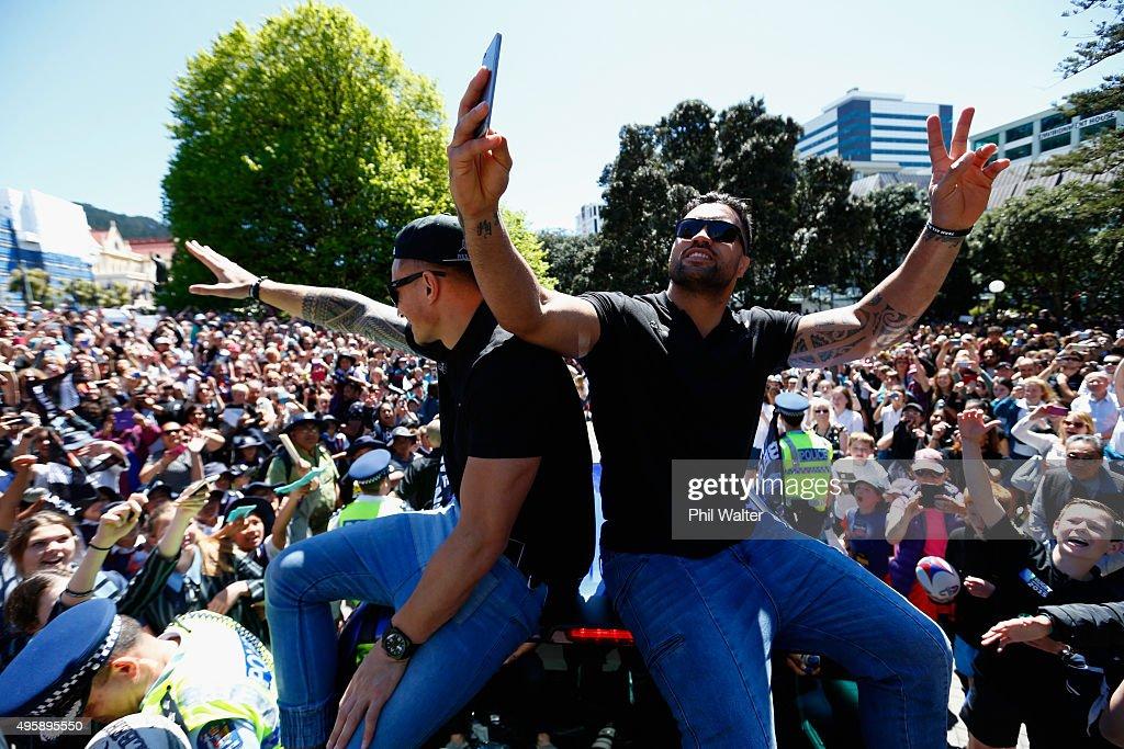 New Zealand All Blacks Welcome Home Celebrations
