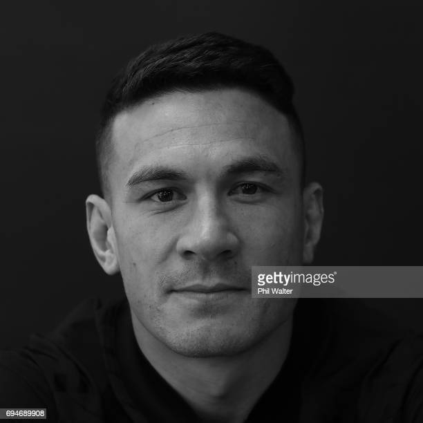 Sonny Bill Williams during the New Zealand All Blacks Headshots Session on June 11 2017 in Auckland New Zealand