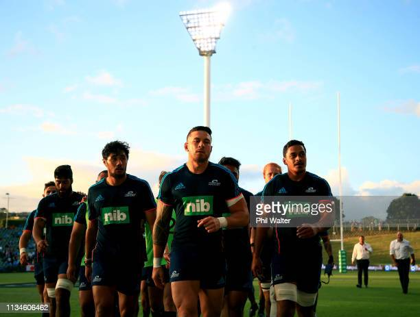 Sonny Bill Williams of the Blues during the round four Super Rugby match between the Blues and the Sunwolves at QBE Stadium on March 09 2019 in...