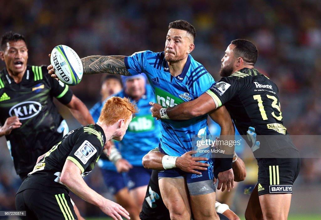 Super Rugby Rd 12 - Blues v Hurricanes : News Photo