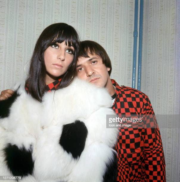 Sonny Bono , an American singer-songwriter, producer, actor, and politician and his then-wife Cher, an American singer, actress and television...