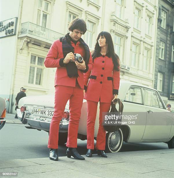 Sonny Bono and Cher in Hamburg Germany in 1966