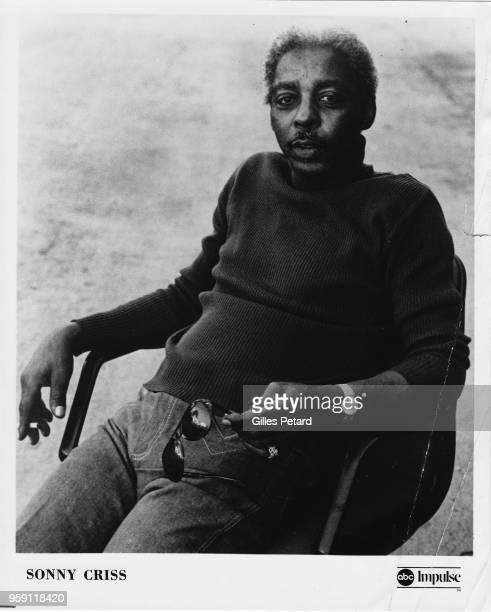 Sonny Criss studio portrait 1975