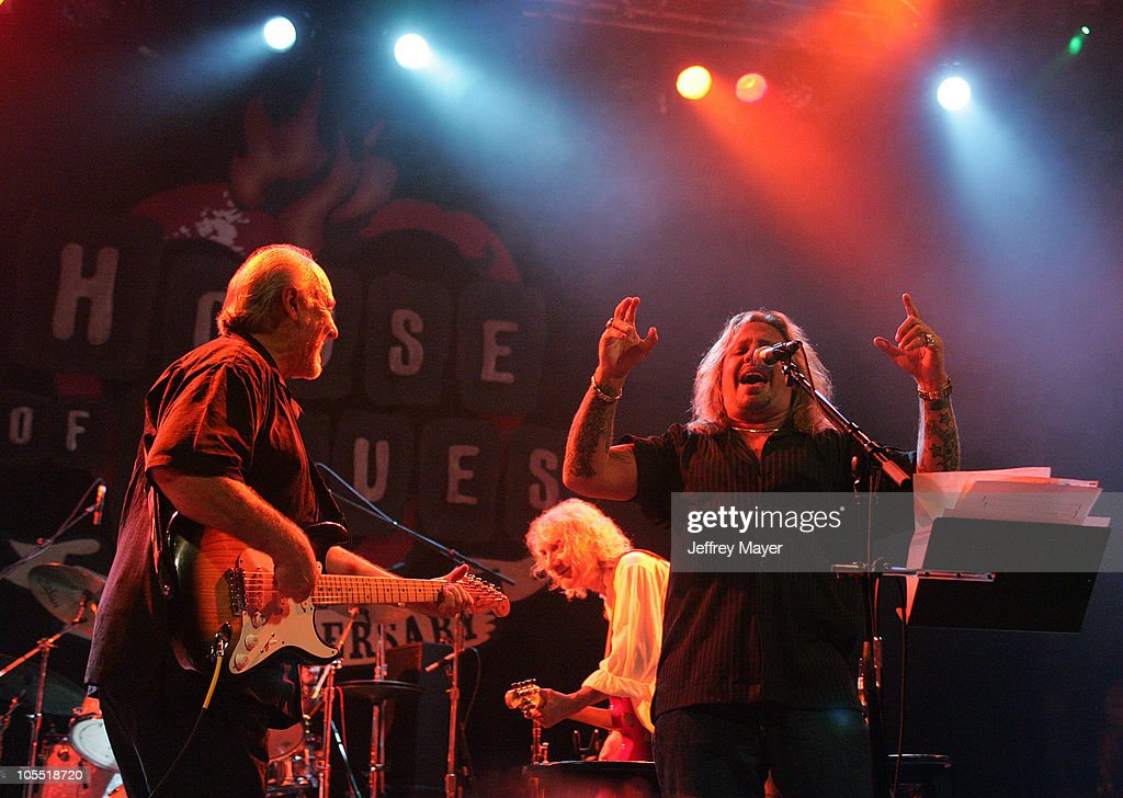 Sonny Curtis of The Crickets, Albert Lee and Vince Neil