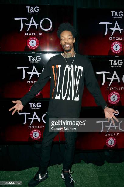 Sonny Digital attends TAO Group's Big Game Takeover presented by Tongue Groove on February 2 2019 in Atlanta Georgia