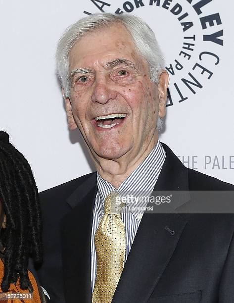Sonny Fox attends Sonny Fox Forty Years In Television A Conversation With Whoopi Goldberg at The Paley Center for Media on September 24 2012 in New...