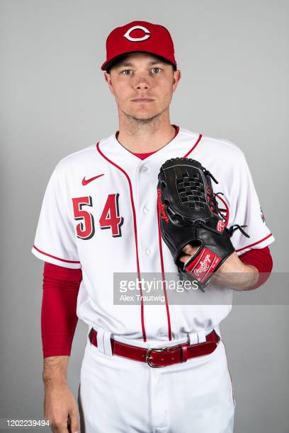 Sonny Gray of the Cincinnati Reds poses during Photo Day on Wednesday, February 19, 2020 at Goodyear Ballpark in Goodyear, Arizona.