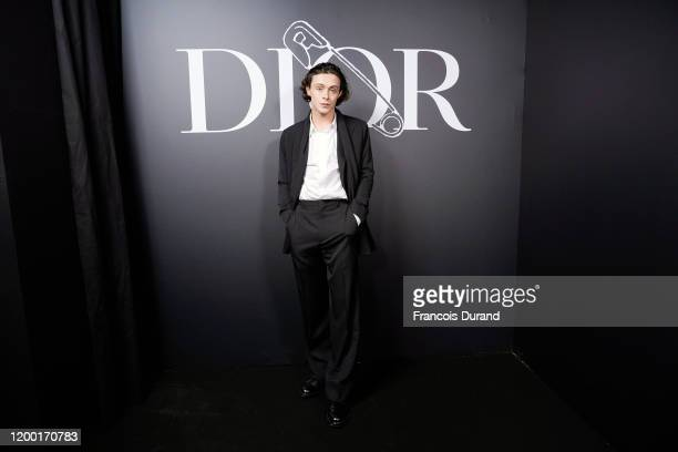 Sonny Hall attends the Dior Homme Menswear Fall/Winter 2020-2021 show as part of Paris Fashion Week on January 17, 2020 in Paris, France.