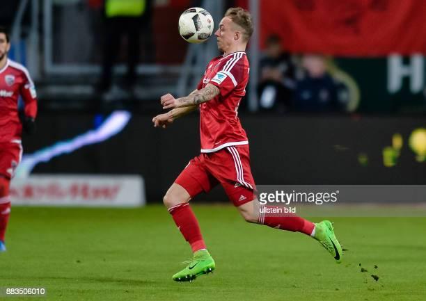Sonny Kittel in Aktion waehrend dem Fussball Bundesliga Spiel FC Ingolstadt 04 gegen 1 FC Koeln am 24 Spieltag der Saison 2016/2017 im Audi Sportpark...