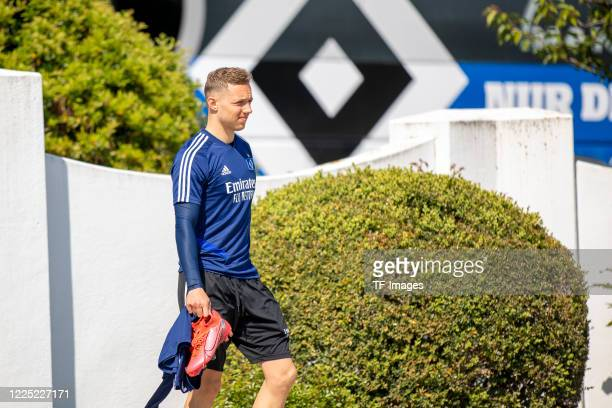 Sonny Kittel of Hamburger SV during the training session of Hamburger SV on May 16 2020 in Herzogenaurach Germany