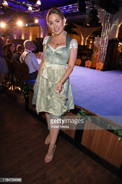 Sonny Loops attends the Angermaier Trachtennacht at Hofbraeu Wirtshaus on August 29 2019 in Berlin Germany