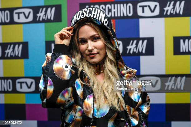 Sonny Loops attends the Moschino tv HM preshopping event on November 7 2018 in Berlin Germany