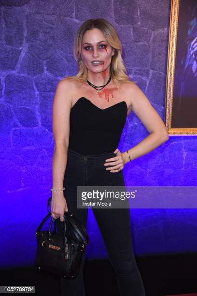Sonny Loops attends the musical premiere of 'Tanz der Vampire' at Theater des Westens on October 21 2018 in Berlin Germany