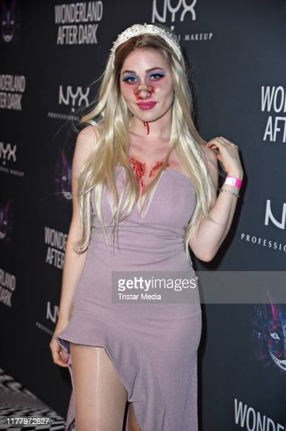 Sonny Loops during the Wonderland after Dark by NYX Professional Makeup Halloween Party at Club Schwuz on October 24 2019 in Berlin Germany
