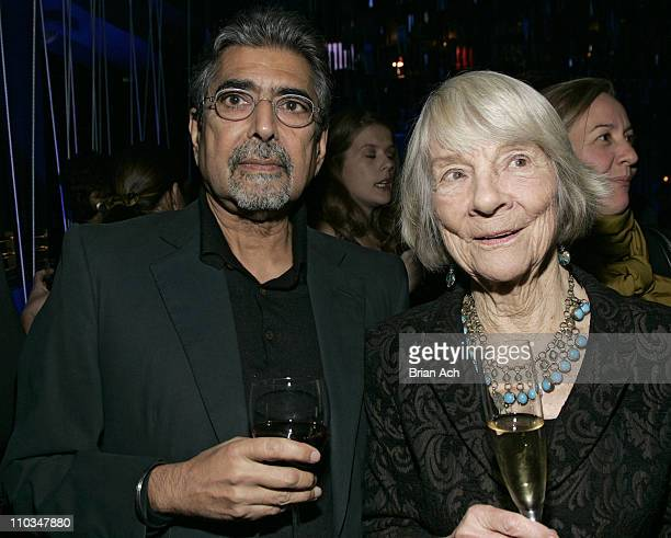 Sonny Mehta and Judith Jones at the Bon Appetit Supper Club hosts tribute dinner for Knopf editor Judith Jones on October 30 at the Bon Appetit...