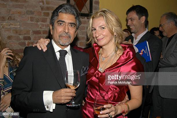 Sonny Mehta and Marisa Acocella Marchetto attend GLAMOUR hosts Marisa Acocella Marchetto's CANCER VIXEN Book Party at Da Silvano on September 21 2006...