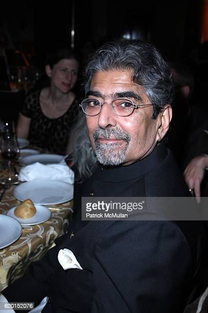 Sonny Mehta attends THE NATIONAL BOOK AWARDS 59th Annual Ceremony and Benefit Dinner at Cipriani's Wall St on November 19 2008 in New York City