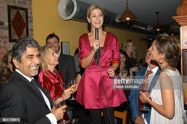 Sonny Mehta Marisa Acocella Marchetto Paula Froelich Silvano Marchetto and Cindi Leive attend GLAMOUR hosts Marisa Acocella Marchetto's CANCER VIXEN...