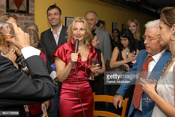 Sonny Mehta Tom Sykes Marisa Acocella Marchetto Silvano Marchetto and Cindi Leive attend GLAMOUR hosts Marisa Acocella Marchetto's CANCER VIXEN Book...