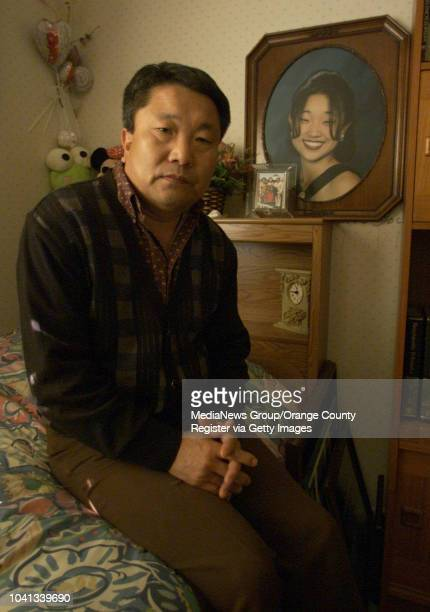 Sonny Park of Irvine sits in the bedroom of his daughter Linda Park on December 15 in Irvine California Linda Park was murdered five years ago in...