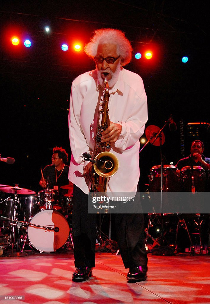 Sonny Rollins performs during the 33rd Annual Detroit Jazz Festival on August 31, 2012 in Detroit, Michigan.
