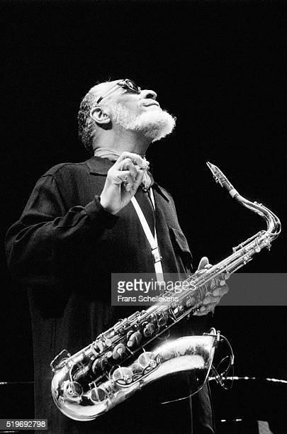 Sonny Rollins, tenor saxophone, performs on May 2nd 1998 at the Concertgebouw in Amsterdam, Netherlands.