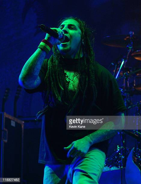 Sonny Sandoval of P.O.D. During Meteora World Tour-Featuring: Linkin Park, P.O.D., Hoobastank, and Story Of The Year. At Nassau Coliseum in...
