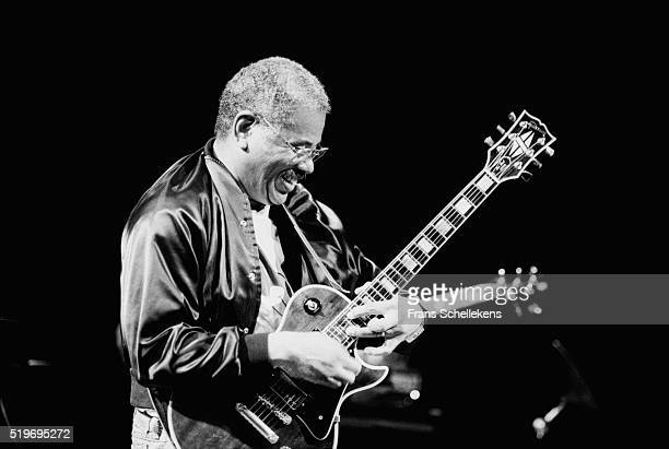 Sonny Sharrock, guitar, performs on June 14th 1991 at the BIM huis in Amsterdam, Netherlands.
