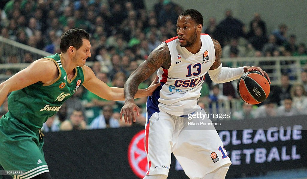 Panathinaikos Athens v CSKA Moscow - Turkish Airlines Euroleague Play Off : News Photo