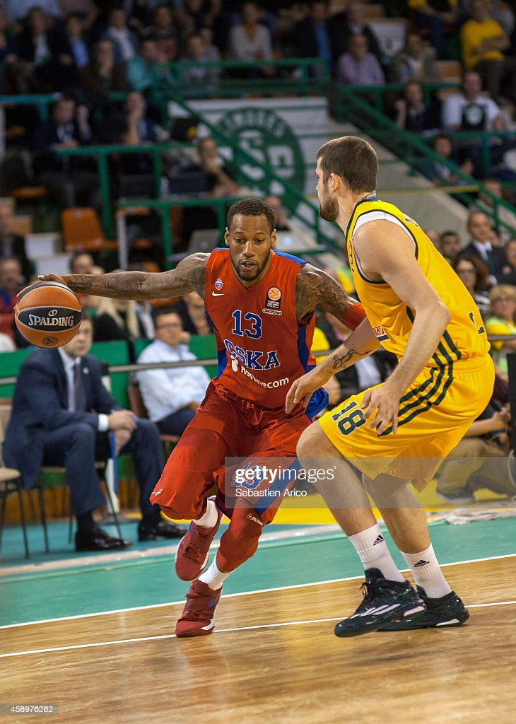 Limoges CSP  v  CSKA Moscow  - Turkish Airlines Euroleague