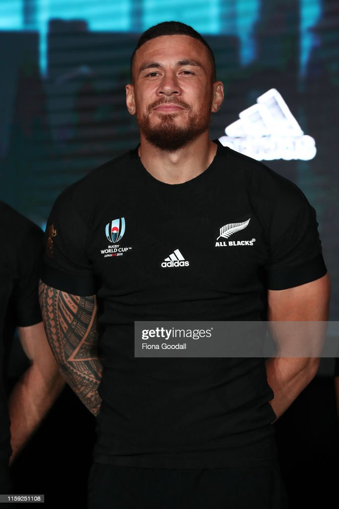 New Zealand All Blacks Rugby World Cup 2019 Jersey Launch : News Photo