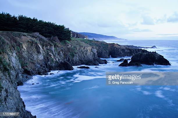 Sonoma coast at dawn