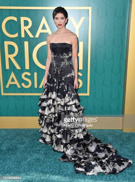 """Sonoya Mizuno attends the premiere of Warner Bros. Pictures' """"Crazy Rich Asiaans"""" at TCL Chinese Theatre IMAX on August 7, 2018 in Hollywood,..."""