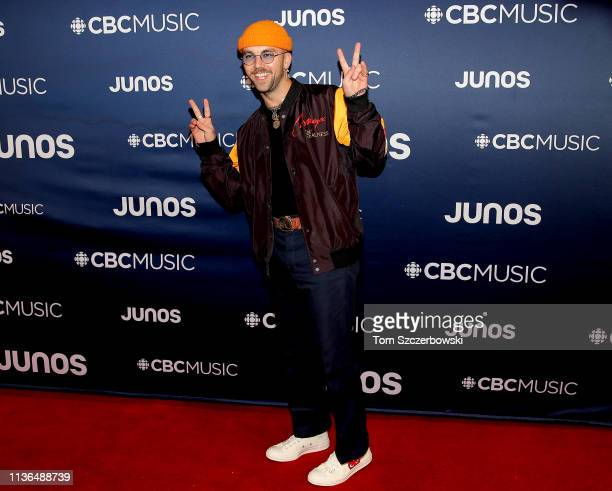 Sonreal attends the 2019 Juno Awards Arrivals at Budweiser Gardens on March 17 2019 in London Canada