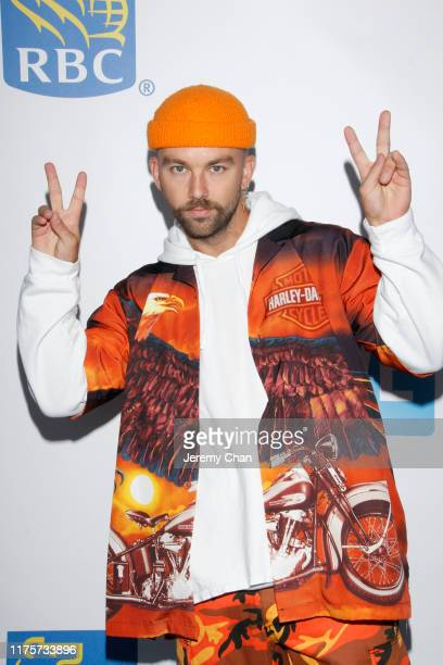 SonReal attends WE Day Toronto 2019 held at Scotiabank Arena on September 19 2019 in Toronto Canada