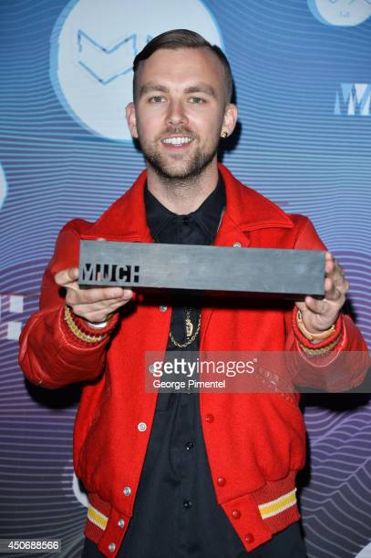 SonReal poses in the press room at the 2014 MuchMusic Video Awards at MuchMusic HQ on June 15 2014 in Toronto Canada